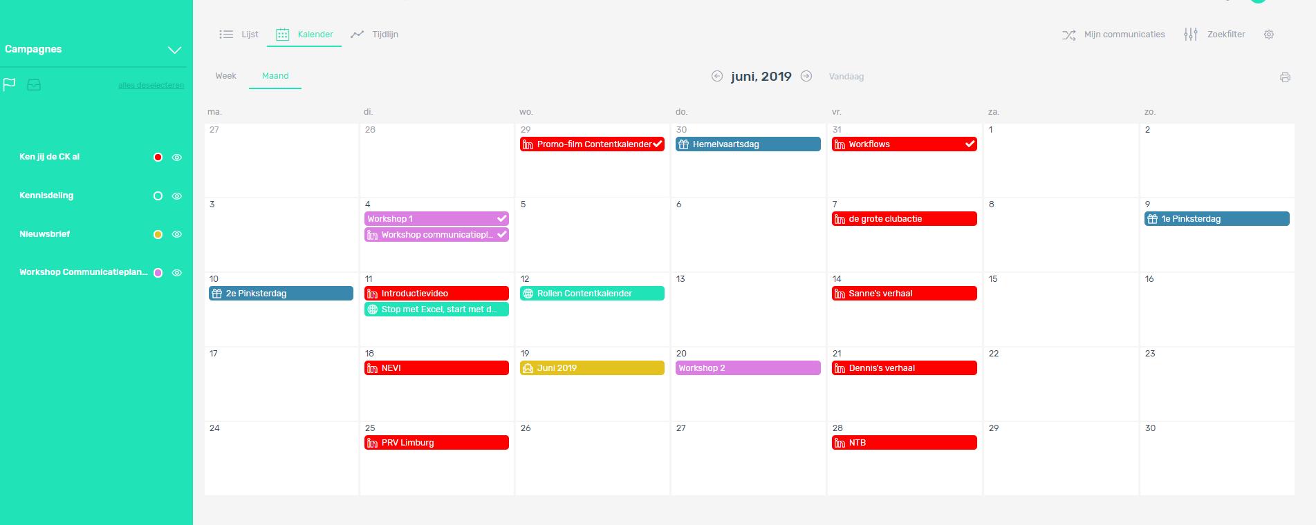 Campagnes geven je communicatieplanning kleur
