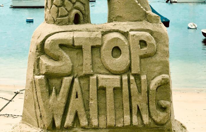 Contentkalender - Headerfoto, stop met wachten